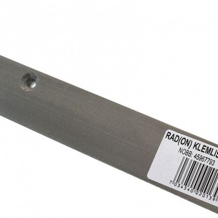 Baca Rad(ON) Klemlist er uunnværlig ved støpt betongvegg eller hvor folien ikke kan avsluttes over fundamentet.