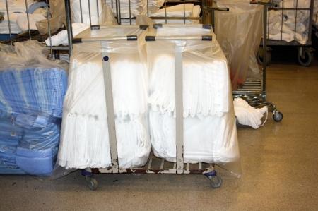 Vi leverer sekker til alle formål for vaskerisektoren.