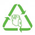 Det er mye folie i næringslivet. Denne folien er ofte ren og ensartet, og egner seg svært godt til materialgjenvinning. Det er enkelt å sortere ut brukt plastfolie.
