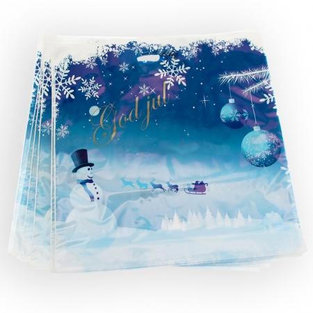 Juleemballasje for butikker og julehandel.