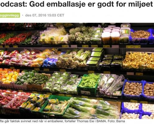 Hvert år kaster hver nordmann 46,3 kilo mat