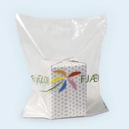 Frostet bæreposer transparent florfjære